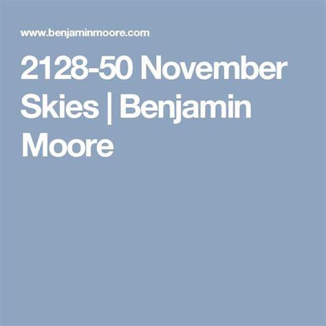 2128 50 november skies benjamin moore paints