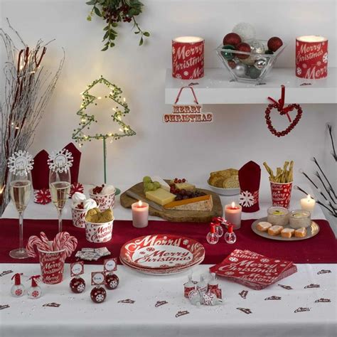 deco de table  faire soi meme noel