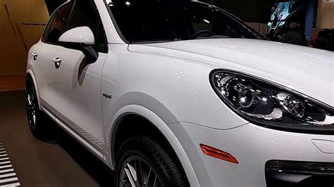 2018 Porsche Cayenne S E Hybrid Platinum Edition @ New
