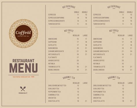 Looks great against the exposed wall i like this brown pper wall m enu idea too.very flexible and looks great.and. Elegant, Modern, Coffee Shop Menu Design for Caffeine by Vishal Vishwakarma | Design #16323208