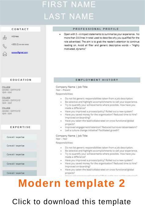 It Cv Template by Recruiters Cv Templates
