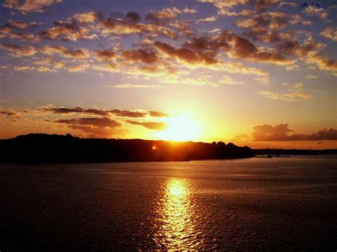 Wallpaper Island Sunset Wallpapers