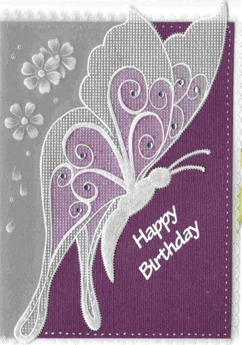 papillon lesley pergamano handmade card  images