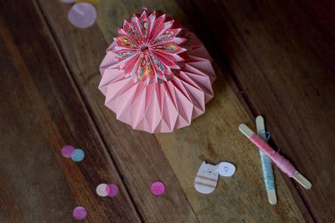 diy boules de papier en origami le meilleur du diy