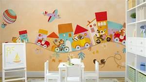 Deko Wand Ideen : kinderzimmer deko wand ~ Markanthonyermac.com Haus und Dekorationen