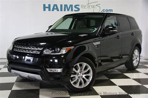 Land Rover Range Rover Sport Photo by 2014 Used Land Rover Range Rover Sport 4wd 4dr Hse At