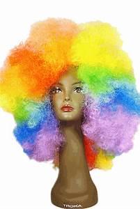 rainbow afro wig - rainbow wig - best price