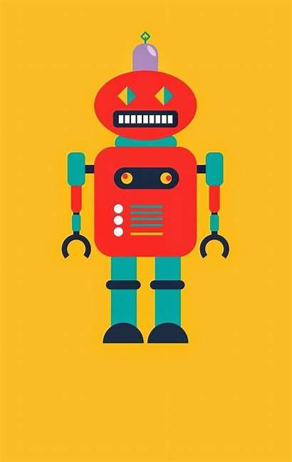 Robot Clipart Robots Clip Robotics Cartoon Orange