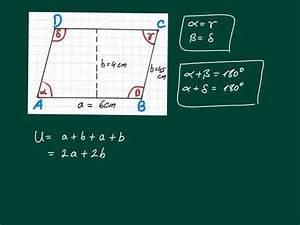 Fläche Und Umfang Berechnen : parallelogramm umfang und fl che berechnen youtube ~ Themetempest.com Abrechnung
