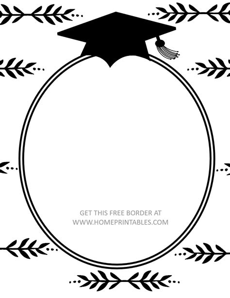 15 Free Graduation Borders {with 5 New Designs!}  Home. Employee Incident Report Template. University Of North Carolina Graduate Programs. Graduation Cap Cupcake Toppers. New York State High School Graduation Requirements. Graduation Presents For Daughter. Business Monthly Budget Template. Nonprofit Operating Budget Template. Dora The Explorer Birthday Party