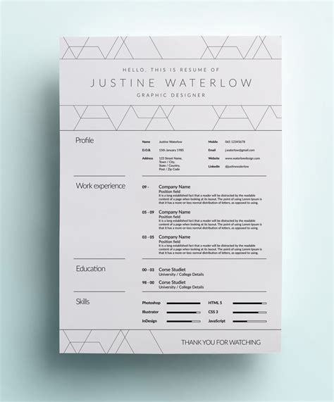 26 best graphic design resume tips with exles