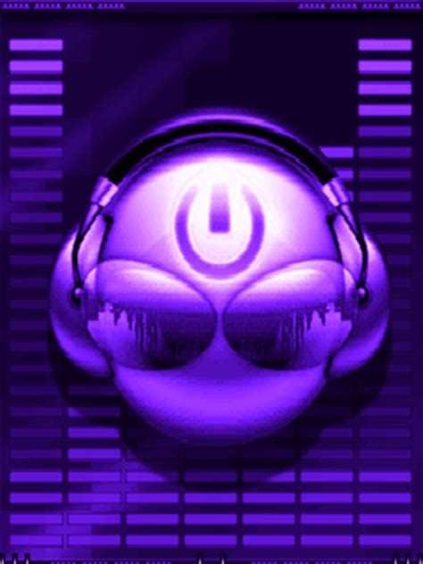 Animated Purple Dance Cell Phone Wallpapers 240x320 Phones