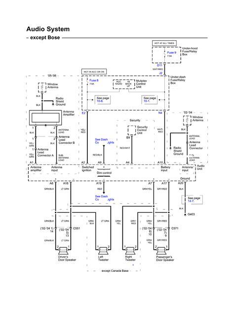 2006 Acura Rl Wiring Diagram by Repair Guides Wiring Diagrams Wiring Diagrams 87 Of