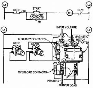 wiring examples phase solidstate contactors phase With motor switch wiring