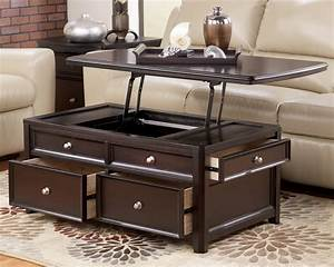 Coffee, Table, With, Lift, Top, Ikea, Storage