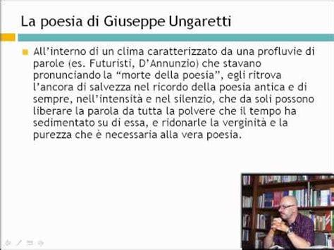 Vanità Ungaretti by Ungaretti Giuseppe San Martino Carso Commento