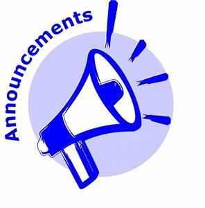 Announcement Clip Art - Cliparts.co