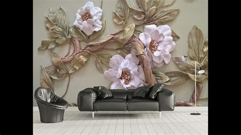mural wallpaper  bedroom living room tv cabinet