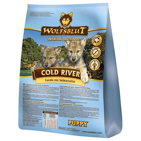 wolfsblut cold river puppy  kg