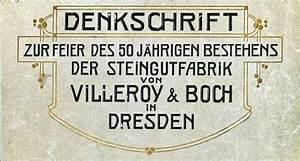 Villeroy Und Boch Dresden : geschichte der fliese die geschichte der dresdner steingutfabrik villeroy boch ~ Orissabook.com Haus und Dekorationen