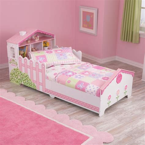 Kidkraft Dollhouse Toddler Bed by Dollhouse Cottage 4 Toddler Bedding Set By Kidkraft
