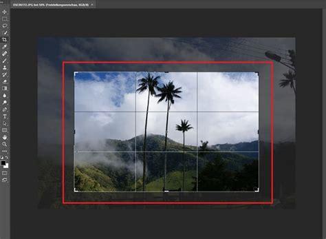 gewusst wie mit photoshop bilder zuschneiden seite