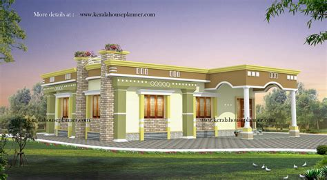 Kerala House Plans 1200 Sq Ft With Photos  Khp