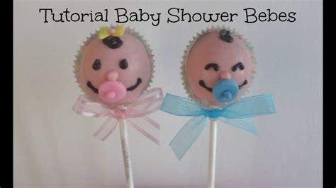 Bebe Baby Shower by Tutorial Paletas De Pastel Baby Shower Caritas De Bebe