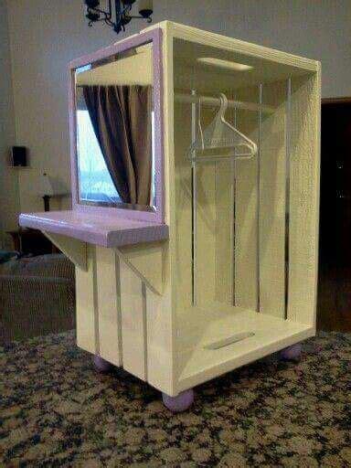 american girl closet    crate diy american