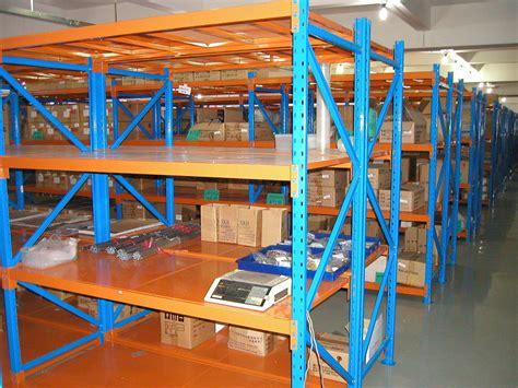 Industrial Galvanized Pallet Racking System Multi Tier