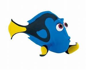 Design A Cake: Disney Figure - Finding Dory - Dory Confused