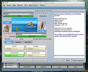 Pokemon line Screenshot