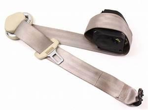 Lh Rear Seat Belt 2005 Vw New Beetle Beige Seatbelt - Genuine