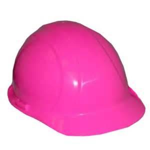 Pink Construction Hard Hats