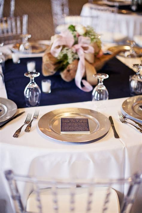 navy blush wedding table reception tables flowers centerpiece gold centerpieces theme using settings scheme decorations pink fresh weddings silver square