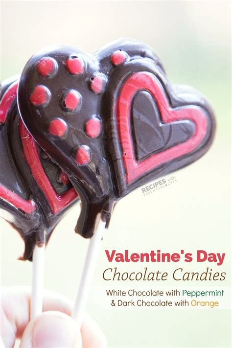 Valentine's Day Chocolate Candy  Recipes With Essential Oils