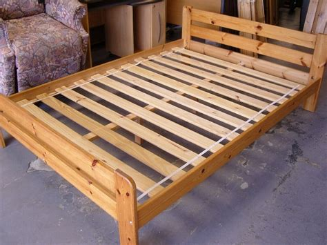 Ikea Bett Kiefer by Ikea Solid Pine Wooden Bed Frames Condition