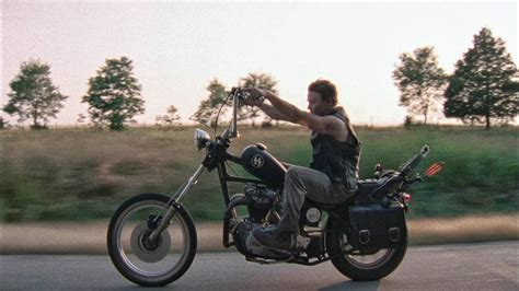 Walking Dead's Daryl Rides A
