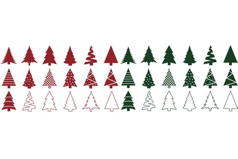 Freesvg.org offers free vector images in svg format with creative commons 0 license (public domain). Christmas Tree SVG Bundle - Christmas Tree Clip Art By ...