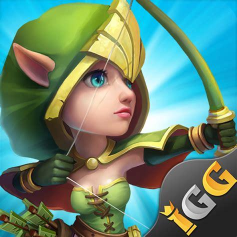 clash castle apk mod games strategy android game squadre valorose gilda reale royale castillo rey makeup guild hack apptoko solitaire