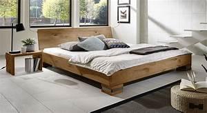 Bett 180x200 Massivholz Komforthöhe : rustikales futonbett aus massiver wildeiche sillaro ~ Bigdaddyawards.com Haus und Dekorationen