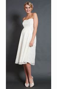 Savona ivory maternity wedding gown short maternity for Short maternity wedding dresses