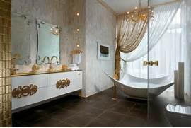 Bathroom Decorations by Gold White Bathroom Decor Interior Design Ideas