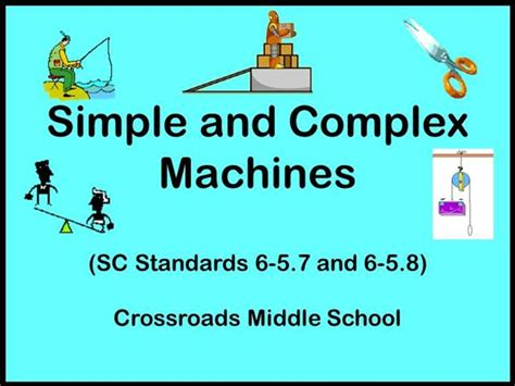 Simple And Complex Machines Notes Authorstream