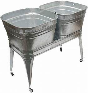 Galvanized, Wash, Tubs, For, Sale