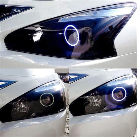 nissan altima headlights oracle lighting nissan altima sedan 2013 2015 chrome