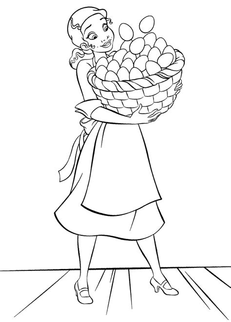 tiana coloring pages coloring home