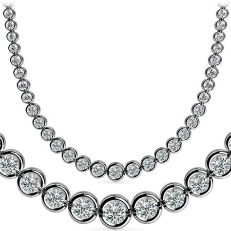 7 Ct Round Diamond Graduated Tennis Necklace Half Bezel 16. Embroidery Brooch. 10 Diamond. Classic Watches. Modern Engagement Rings. Chanel White Watches. Bridal Jewelry Bracelet. 4 Stone Diamond Wedding Band. 1000 Dollar Wedding Rings