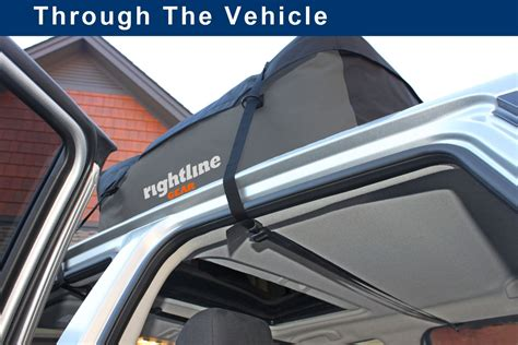 Rightline Gear Sport 3 Car Top Carrier  No Roof Rack Needed