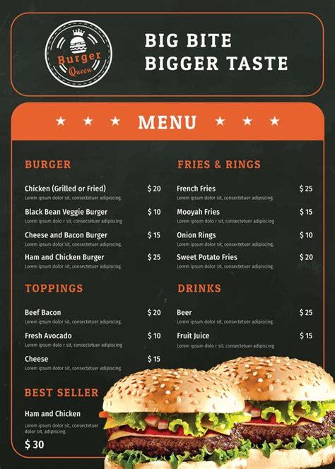 cafe menu templates psd eps indesign